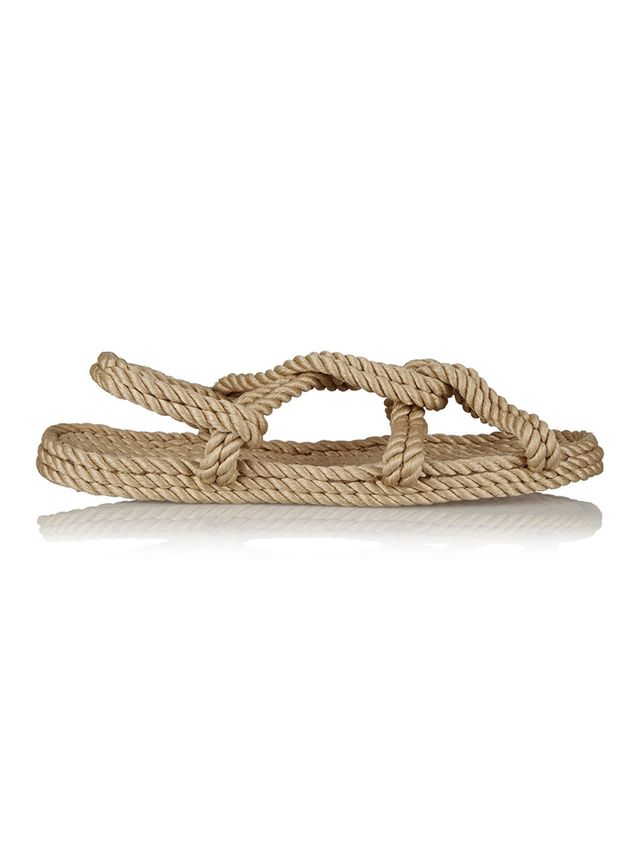 Totême + Gurkees Biot Rope Sandals