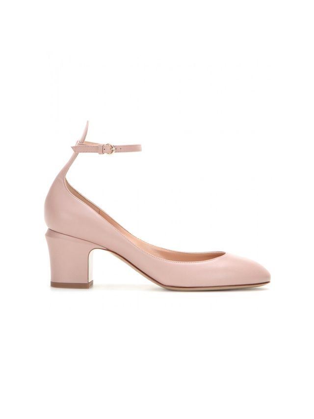 Valentino Tango Leather Pumps
