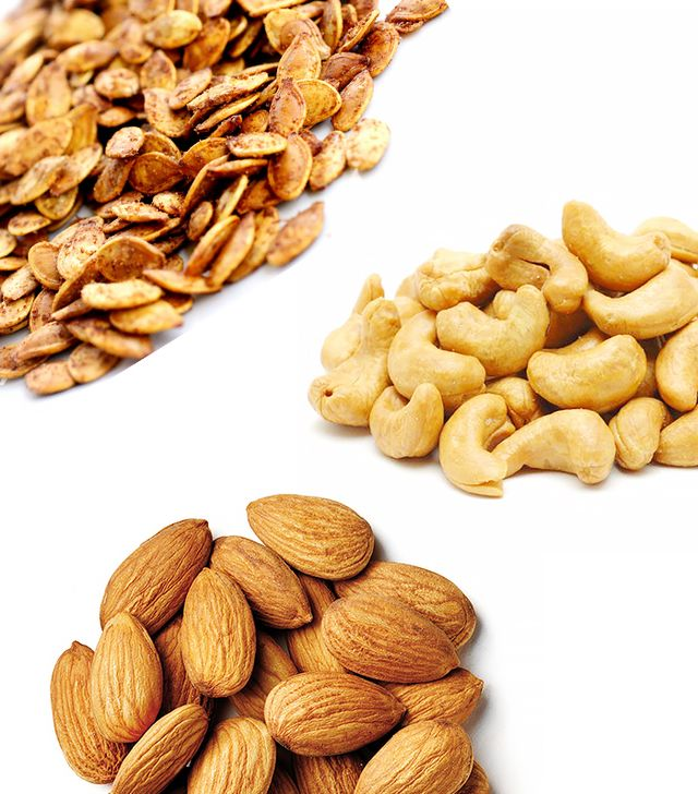 Roasted Pumpkin Seeds, Cashews, Almonds
