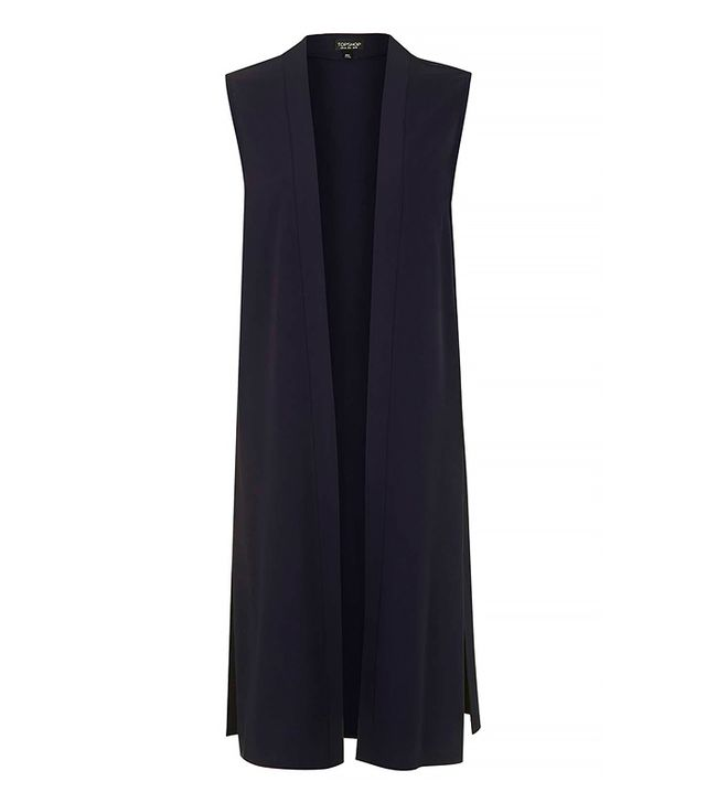 Topshop Sleevelss Duster