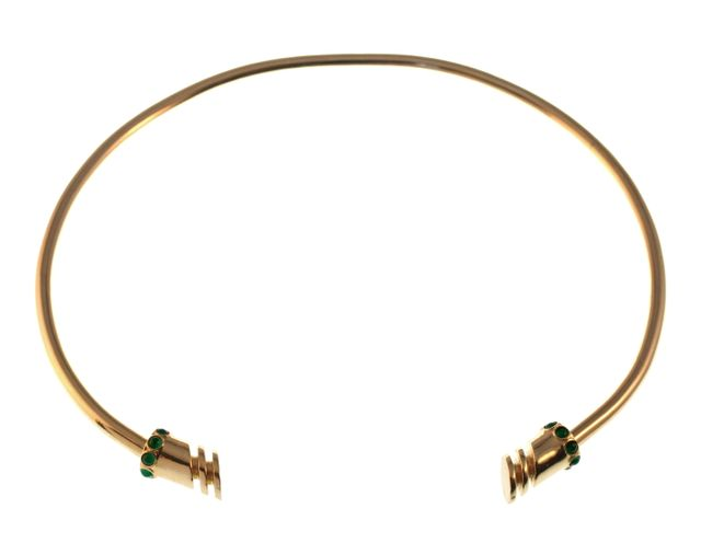TomTom Gold Niemeyer Collar with Stones