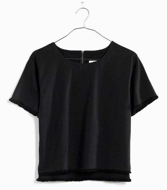 Madewell Fringed Crop Top