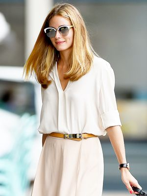 How Olivia Palermo Does Summer Neutrals