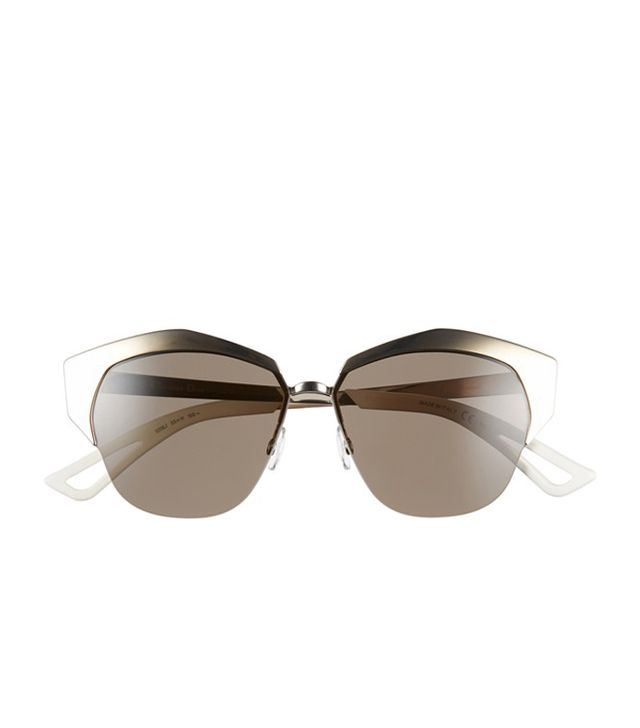 Dior Mirrors 55mm Cat Eye Sunglasses
