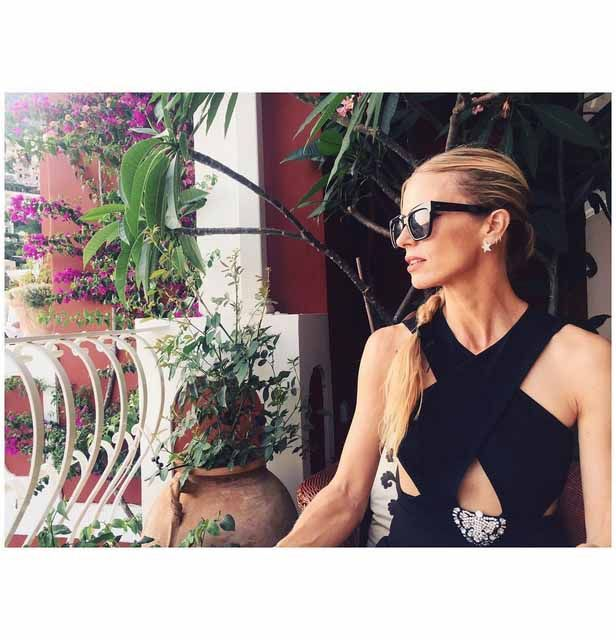 Poppy Delevingne on the Amalfi Coast