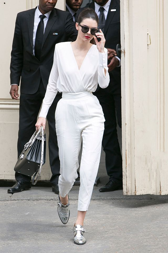 Kendall Jenner: Saint Laurent Bag