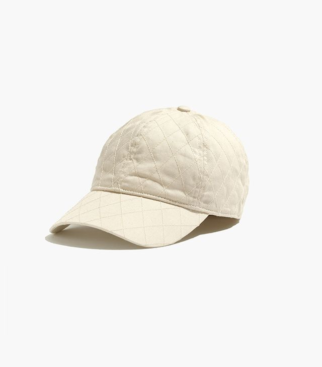 Madewell Quilted Cotton Baseball Hat