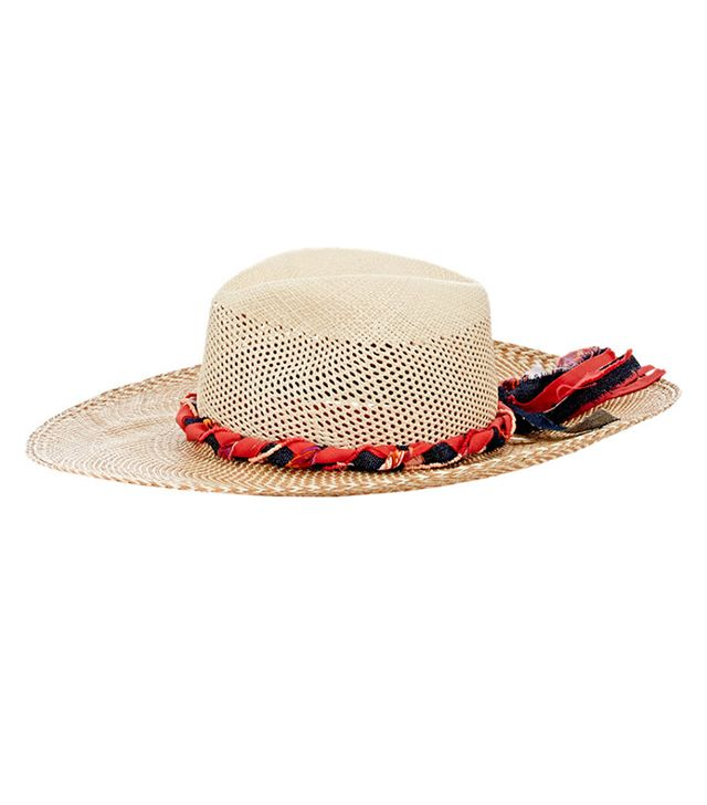 House of Lafayette Cutout-Crown Panama Hat