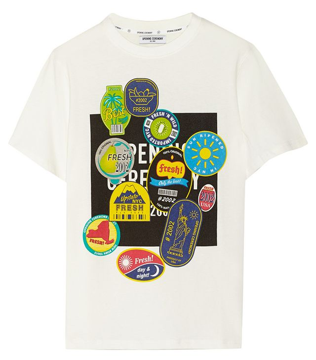 Opening Ceremony Fruit Sticker T-Shirt