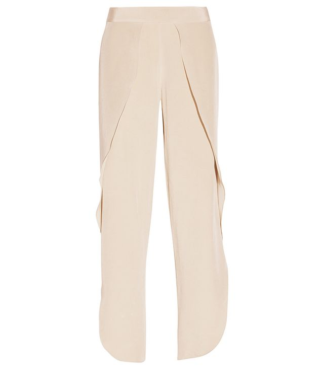 Totême Toulon Silk Wide-Leg Pants