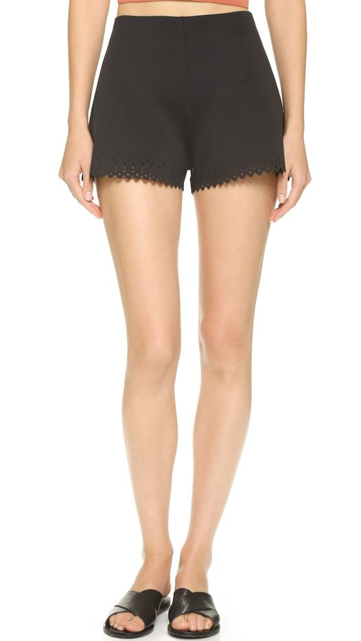 Whistles Pampus Print High Waisted Shorts