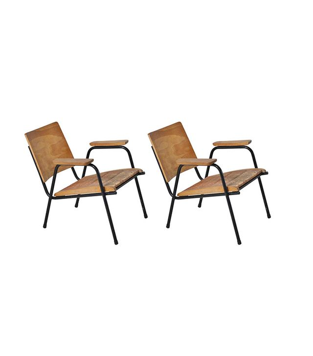 1stdibs Plywood Lounge Chairs