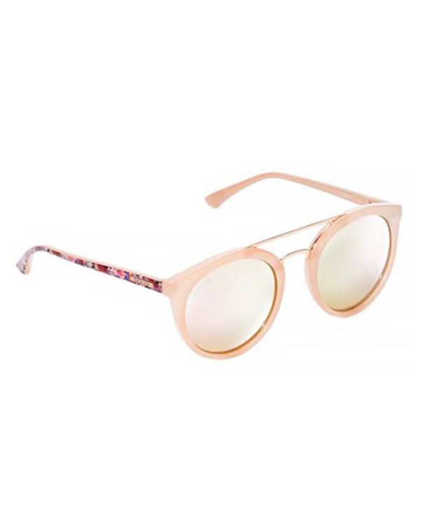 Guess Kara Round Plastic Sunglasses