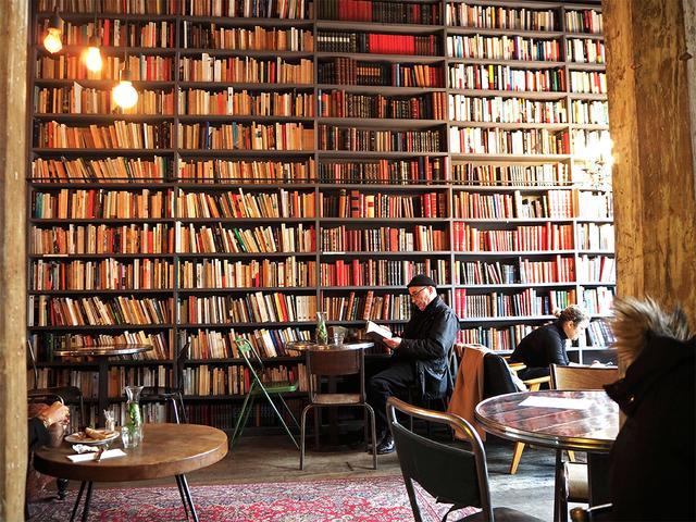 Merci Used Book Café