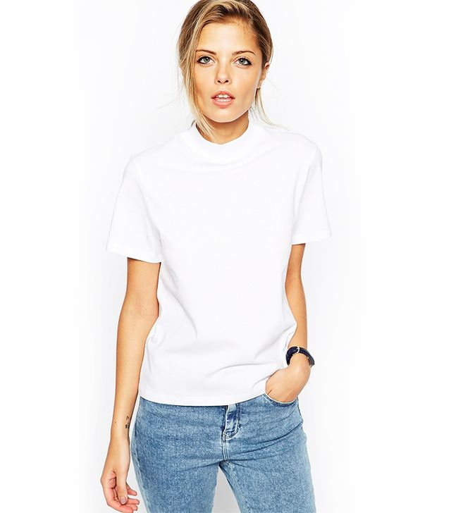 ASOS The High Neck T-Shirt