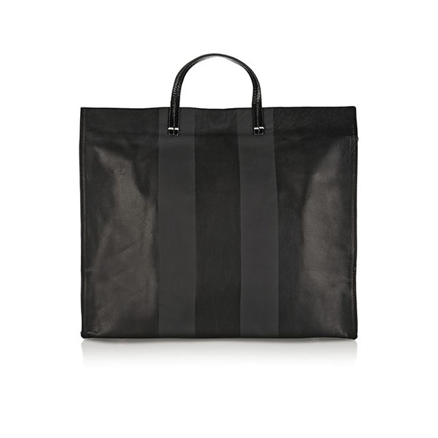 Clare V. Simple Coated-Leather Tote
