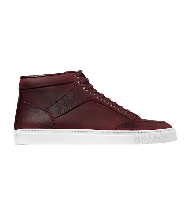 ETQ Amsterdam Maroon High Top Sneakers
