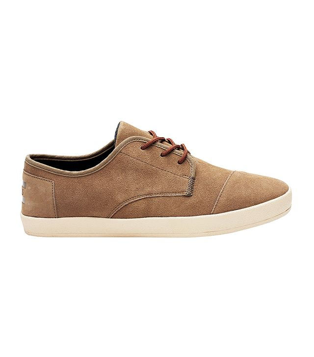 Tom's Desert Taupe Suede Paseos