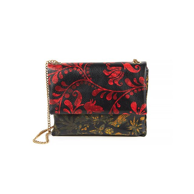 Lanvin Mini Sugar Printed Leather Bag