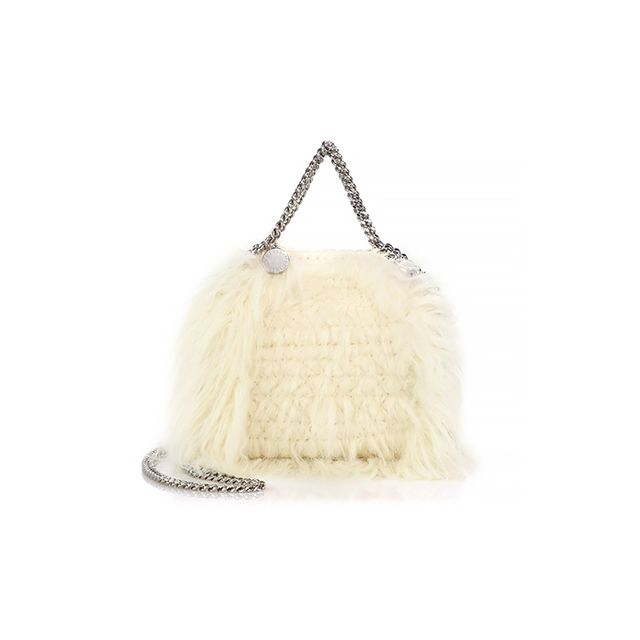 Stella McCartney Falabella Mini Faux Fur Tote