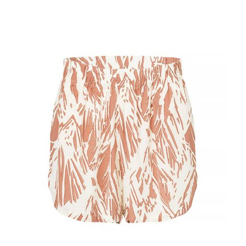 Happy Valley Silk Shorts, Copper