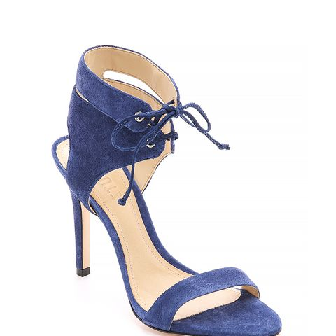 Kora Suede Sandals, Dress Blue