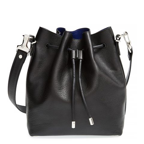Medium Bucket Bag, Black