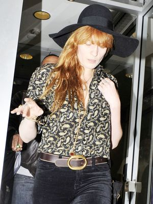 Florence Welch Just Won '70s-Inspired Style