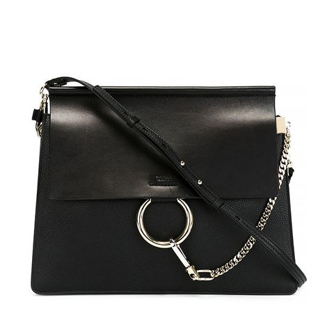 Faye Shoulder Bag, Black