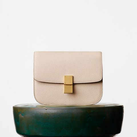Medium Classic Bag, Dune Goatskin