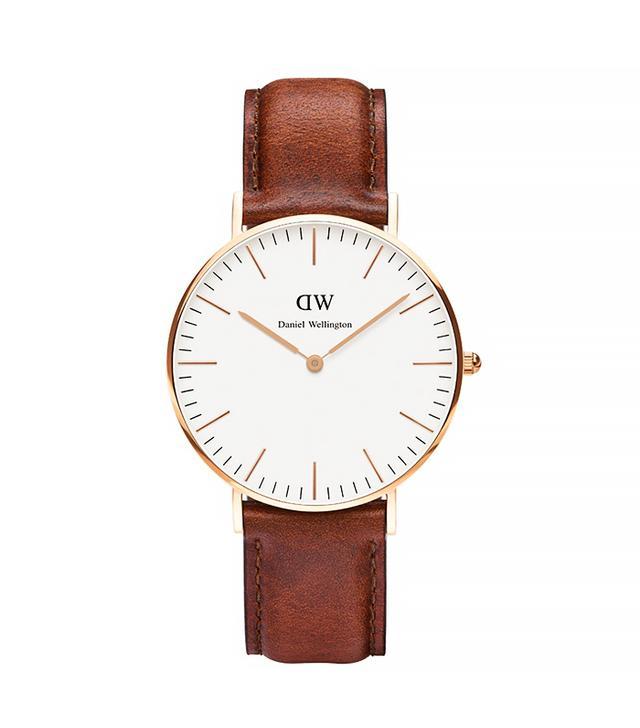 Daniel Wellington Classic St Mawes Watch, Rose Gold