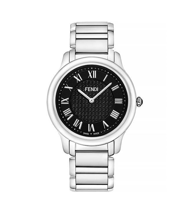 Fendi Stainless Steel Round Classico Watch