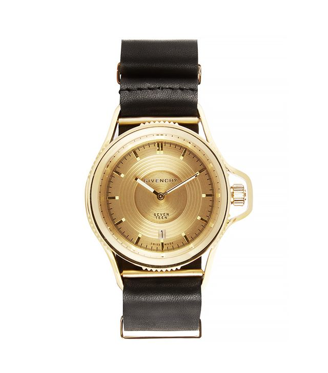 Givenchy Seventeen Watch, Gold-Plated Stainless Steel