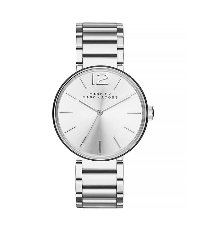 Marc by Marc Jacobs 36mm Stainless Sunray Dial Watch