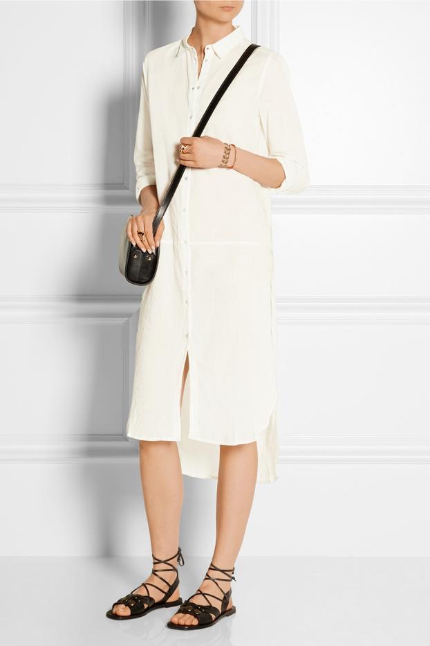 DAY Birger et Mikkelsen Day Breeze Cotton-Voile Midi Shirt Dress