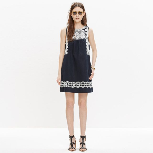 Madewell Embroidered Stichtake Dress