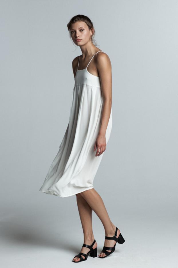 Trois the Label Laetitia Mid-Length Dress