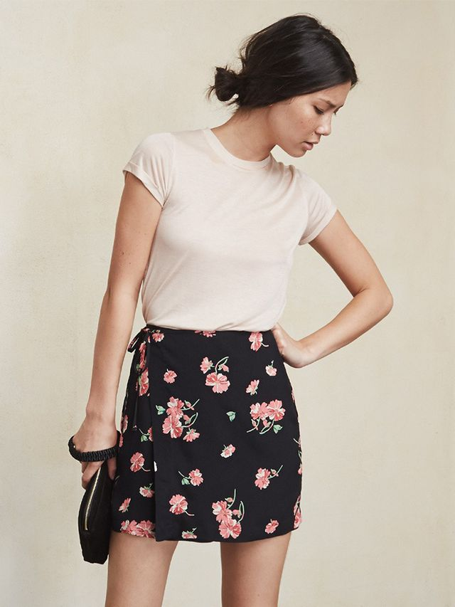 The Reformation Clifton Skirt