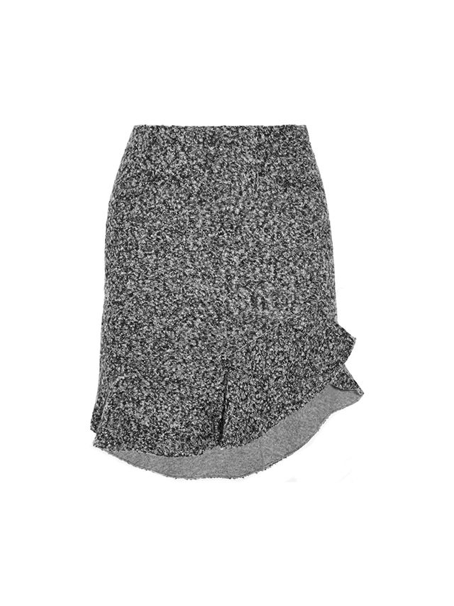 Isabel Marant Drye Wool-Blend Bouclé Mini Skirt