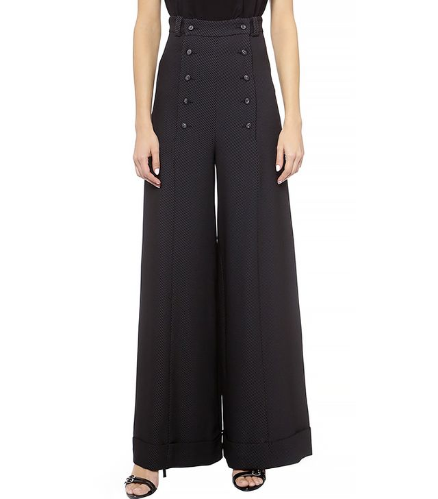 Lover Sailor Pants, Pinstripe