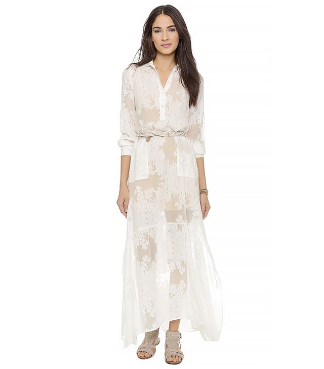 For Love & Lemons Breezy Maxi Dress, White