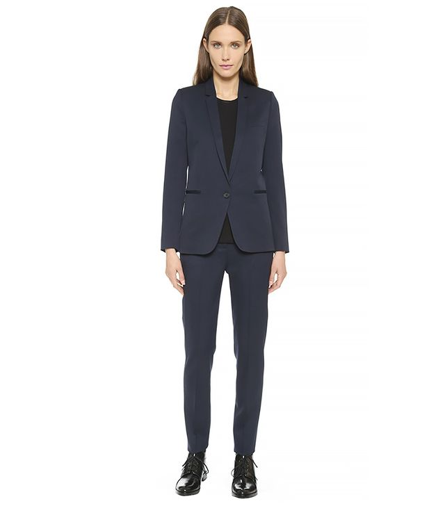 The Kooples Timeless Suit Jacket and Trousers, Navy