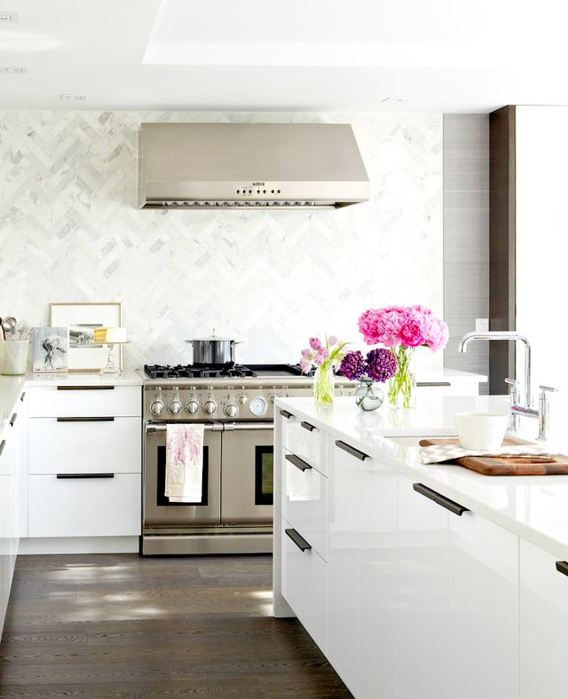 Ikea Cabinets   Ikea Kitchens. The Most Stylish IKEA Kitchens We ve Seen   MyDomaine