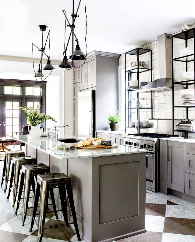 Kitchen Ideas Ikea the most stylish ikea kitchens we've seen | mydomaine