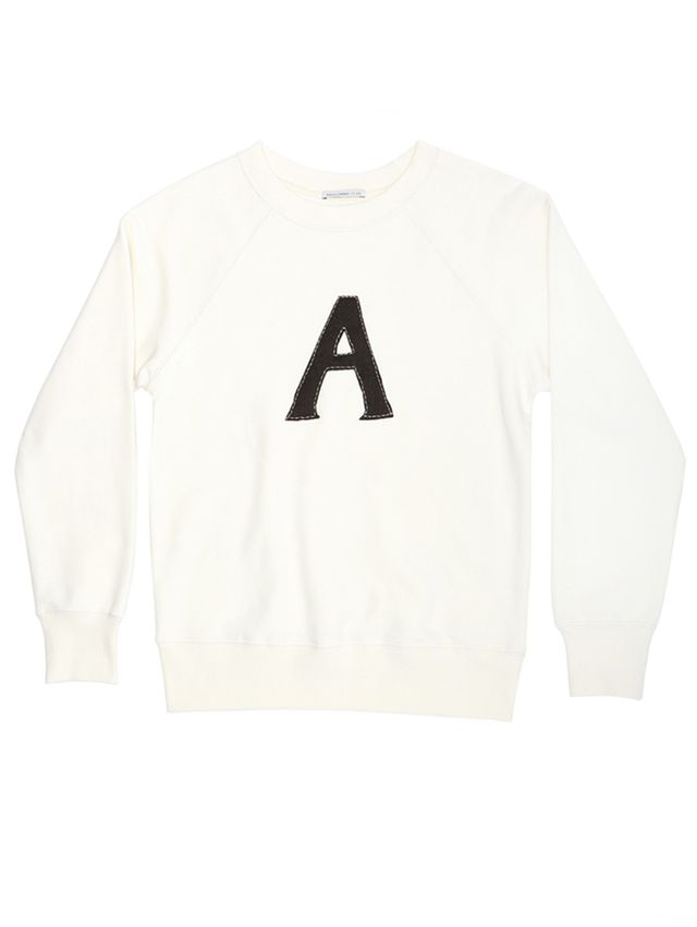 Alexa Chung for AG The Scarlet A Sweatshirt