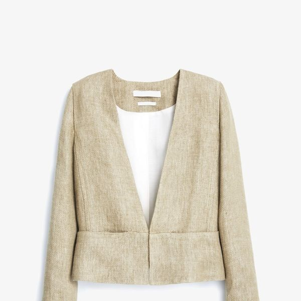 Mango Premium Linen Jacket