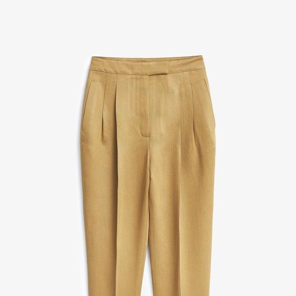 Mango Premium Soft Fabric Baggy Trousers
