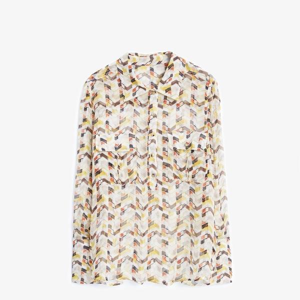 Mango Premium Silk Shirt