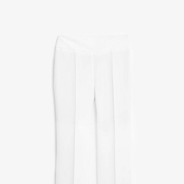 Mango Premium Long Flowy Trousers