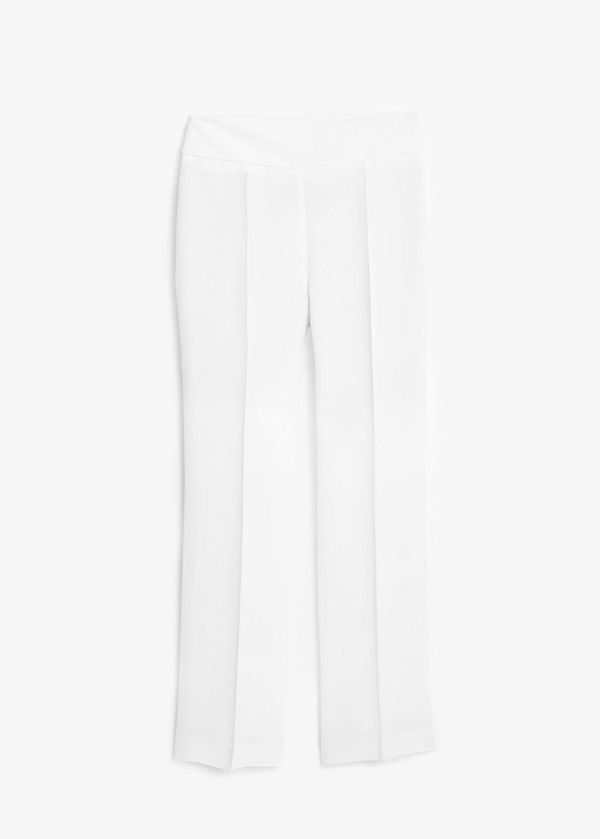 Mango Premium Long Flowy Trousers